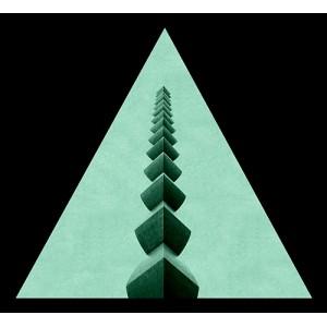 tablou-fosforescent-triunghi-coloana-infinitului-