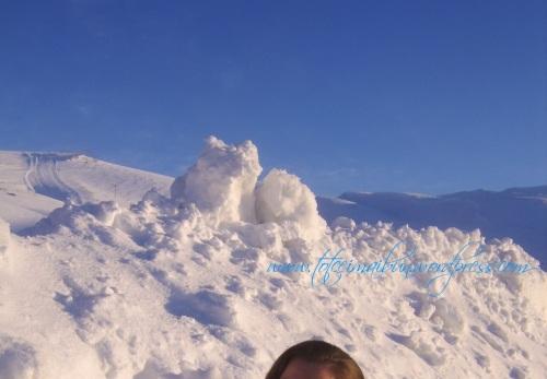 iarna in liban
