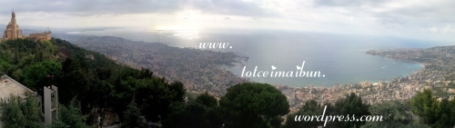 jounieh seen from harissa