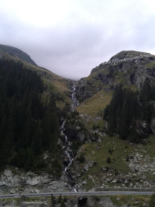 vdere de la cabana capra ROMANIA